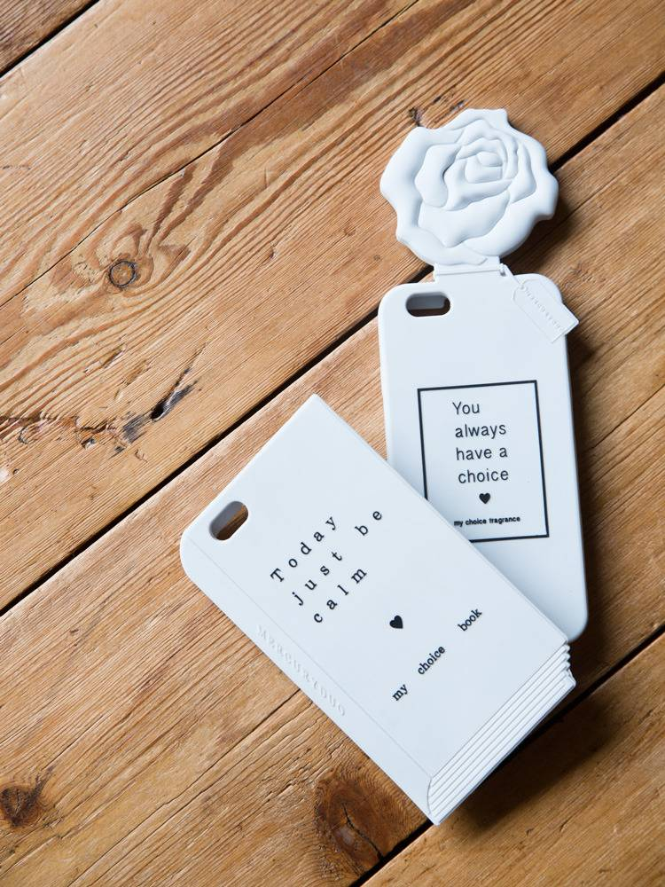 Flower diffuser silicon iPhone Case