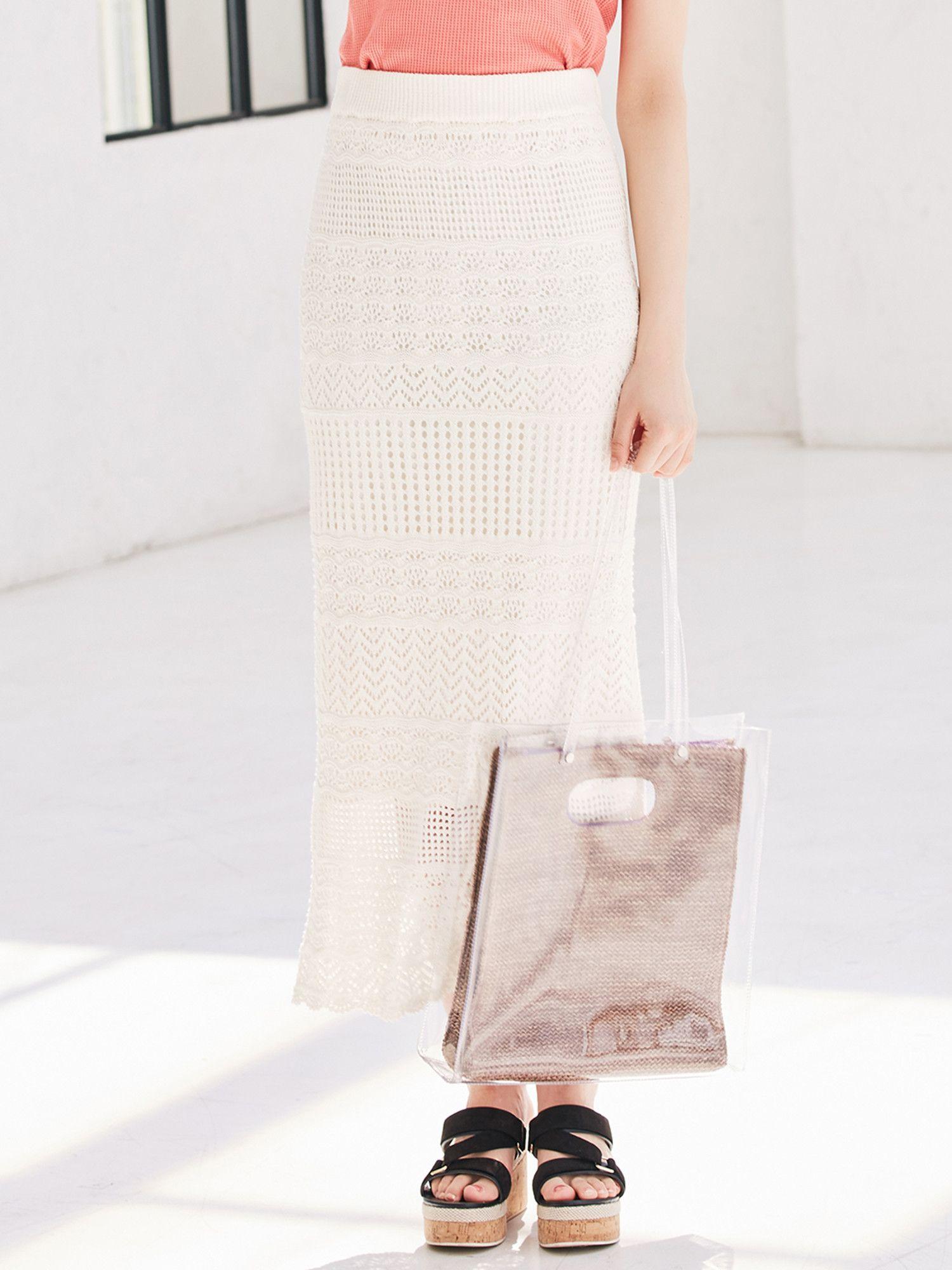 钩针编织紧身裙