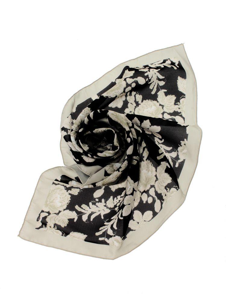 VINTAGE FLOWER scarf