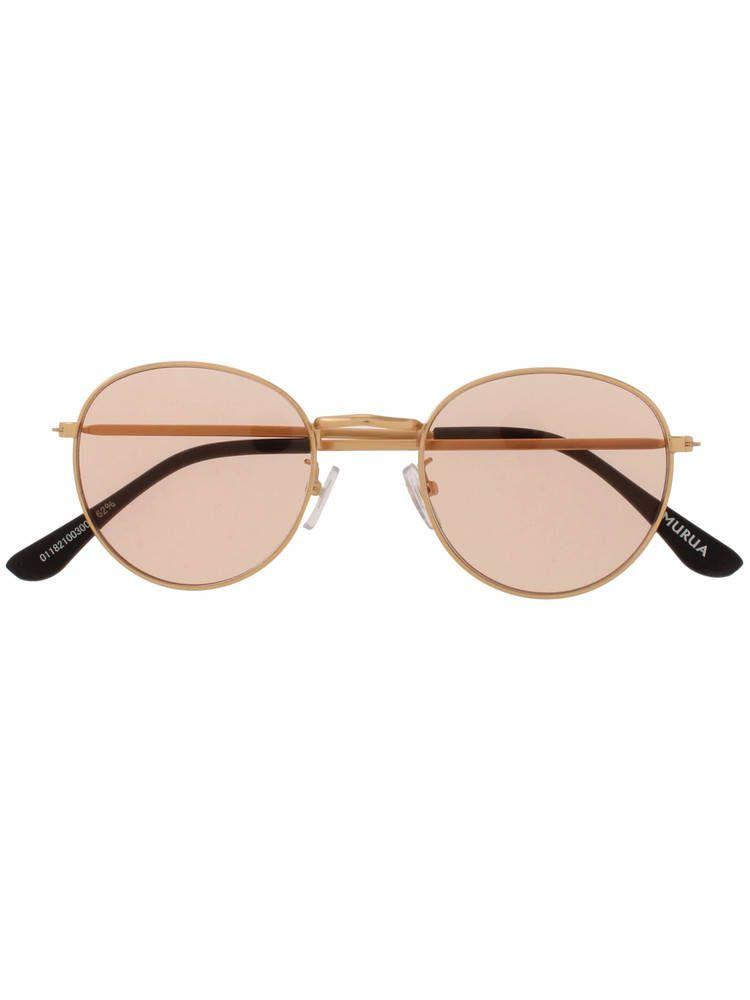 Mat frame sunglasses