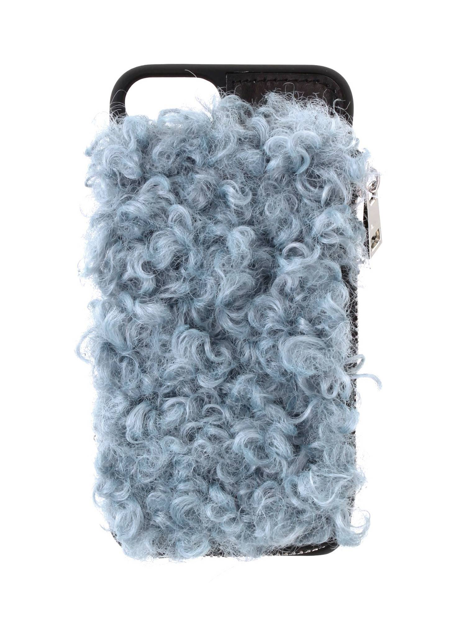Curly fur iphone case