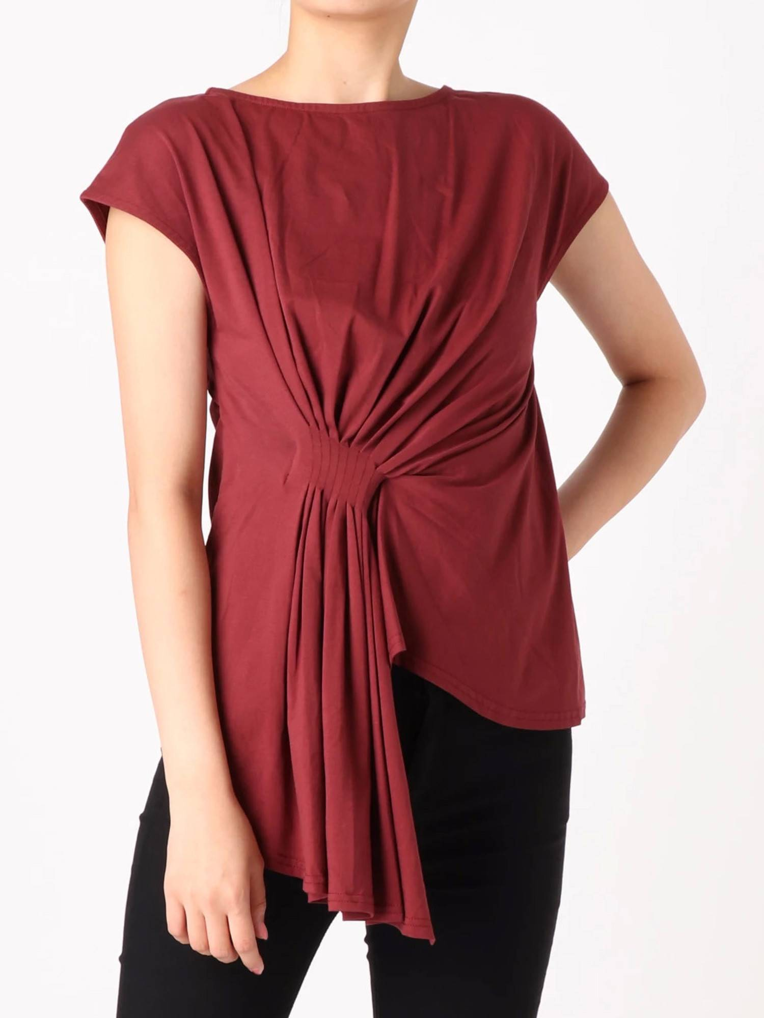 Front pleat TOPS