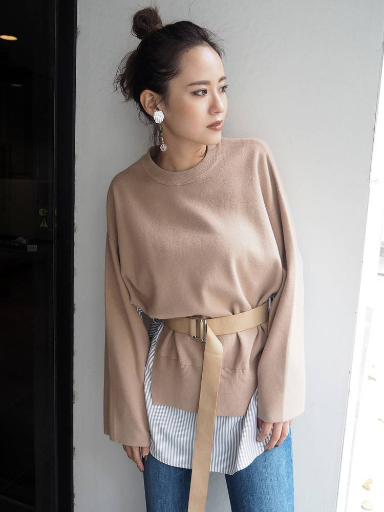 Shirt layer design tunic