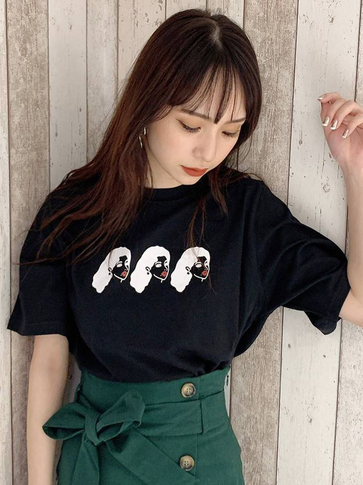 【MURUA×NO PANTIES】ビッグTシャツ