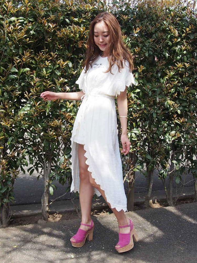 [Sw] cotton lace culottes