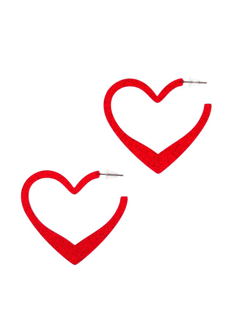[Goods] lame Heart Earrings