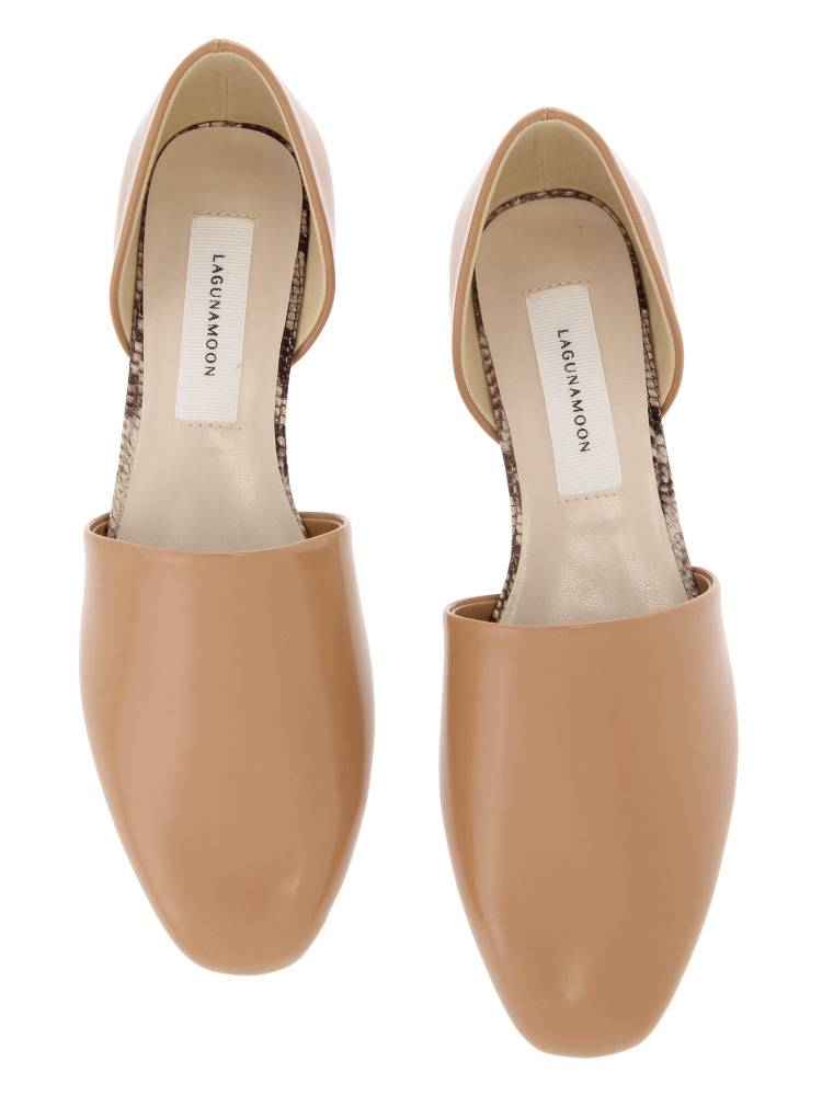 Flat separate shoes