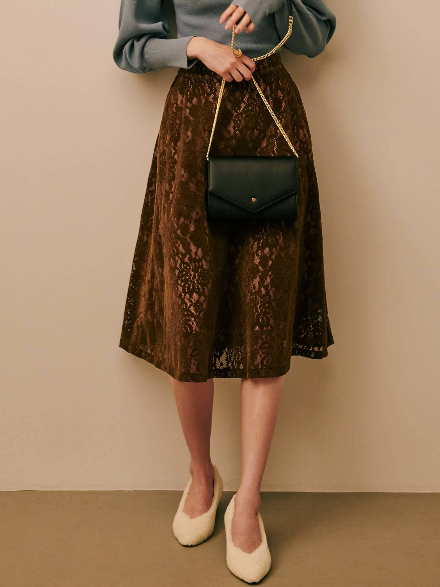 Furokki比赛喇叭裙