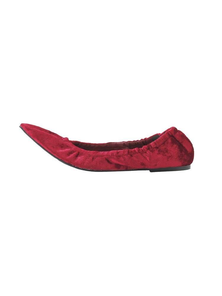 絲絨芭蕾舞鞋