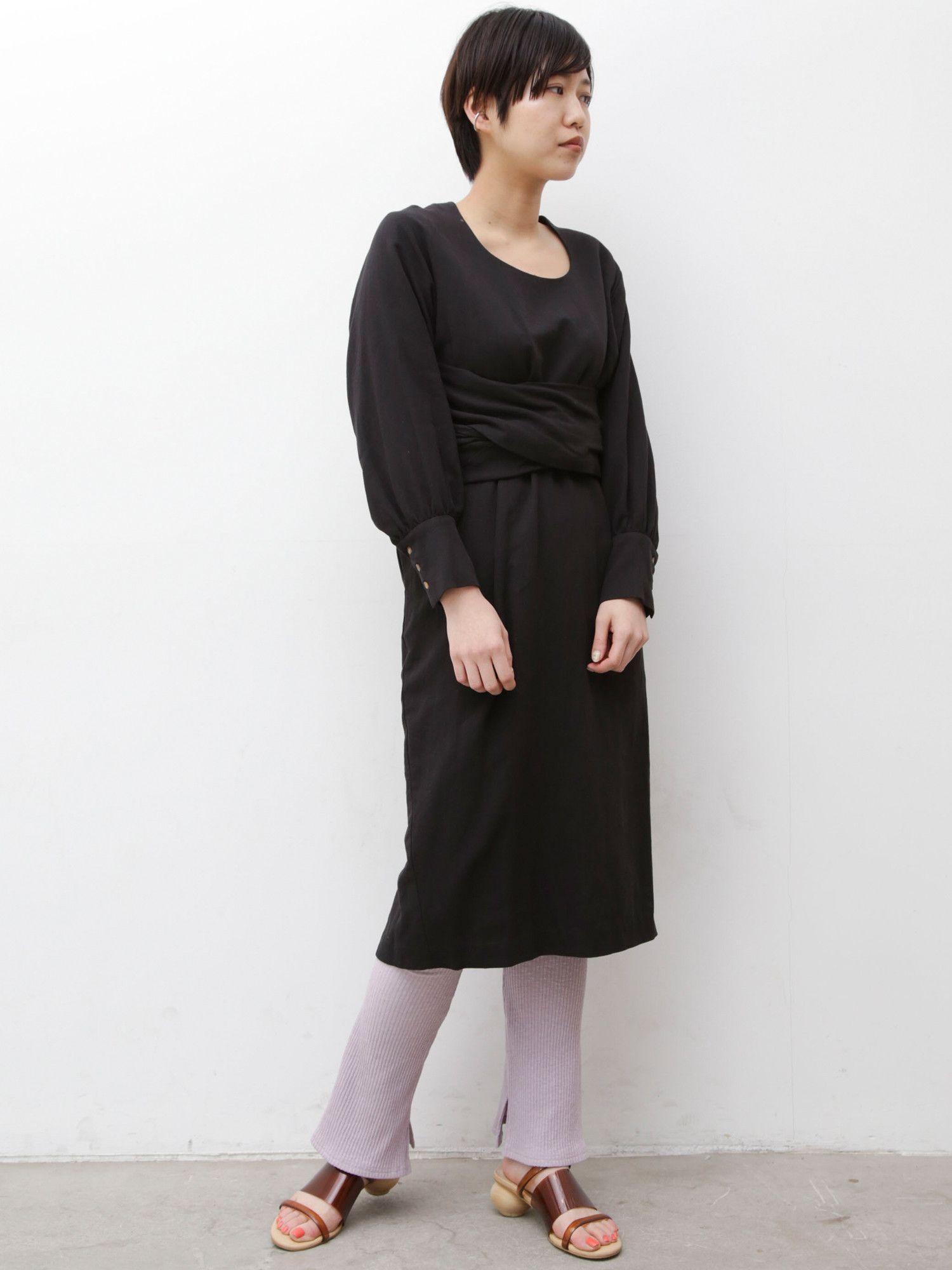 West sash dress