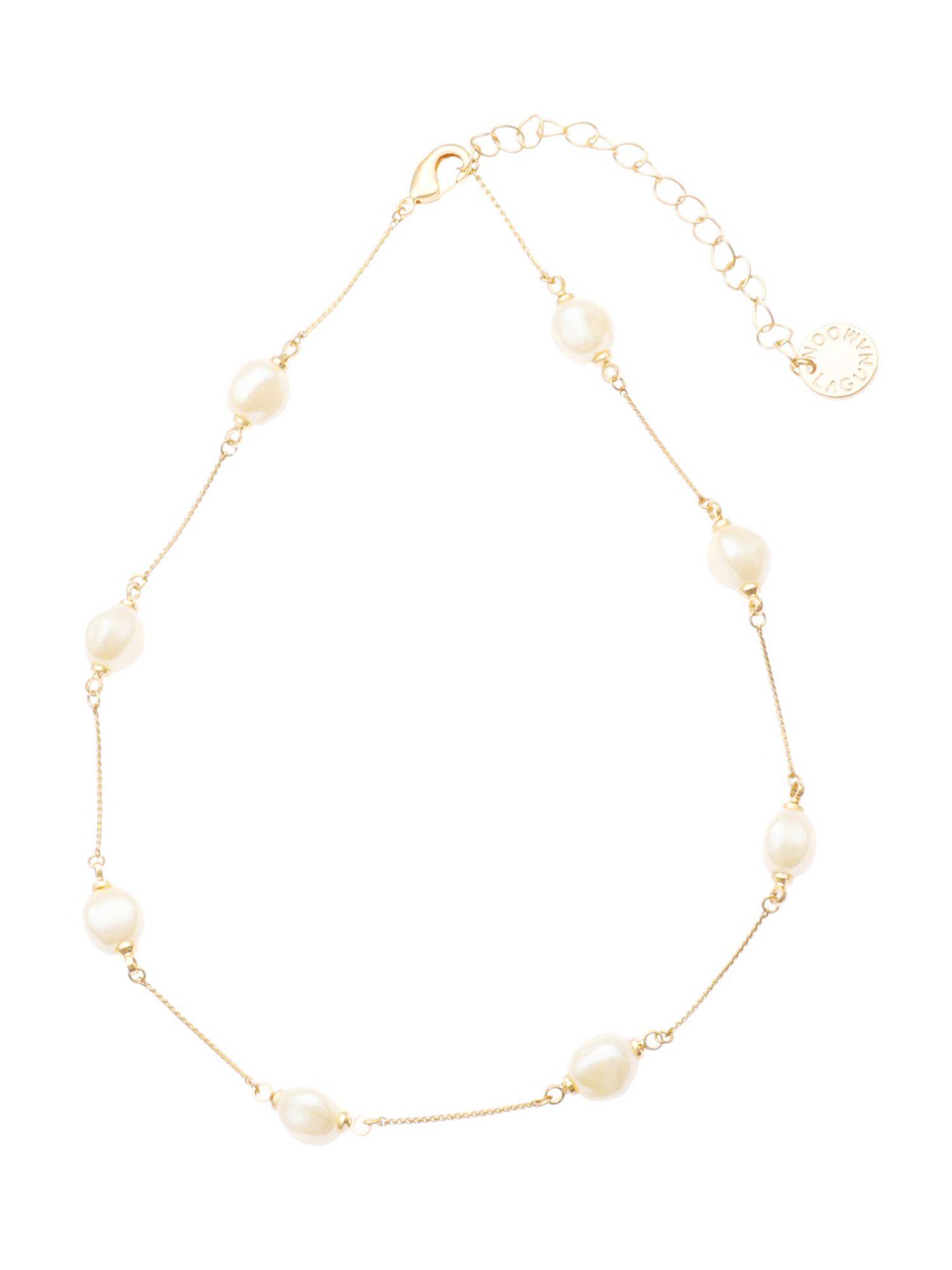 LADY假珍珠項鍊鏈