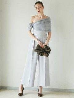 LADYエスパンディラップパンツドレス