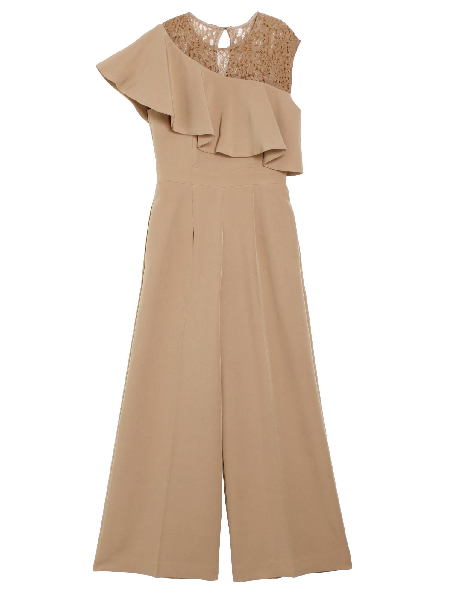 LADY ラッフルワイドパンツドレス