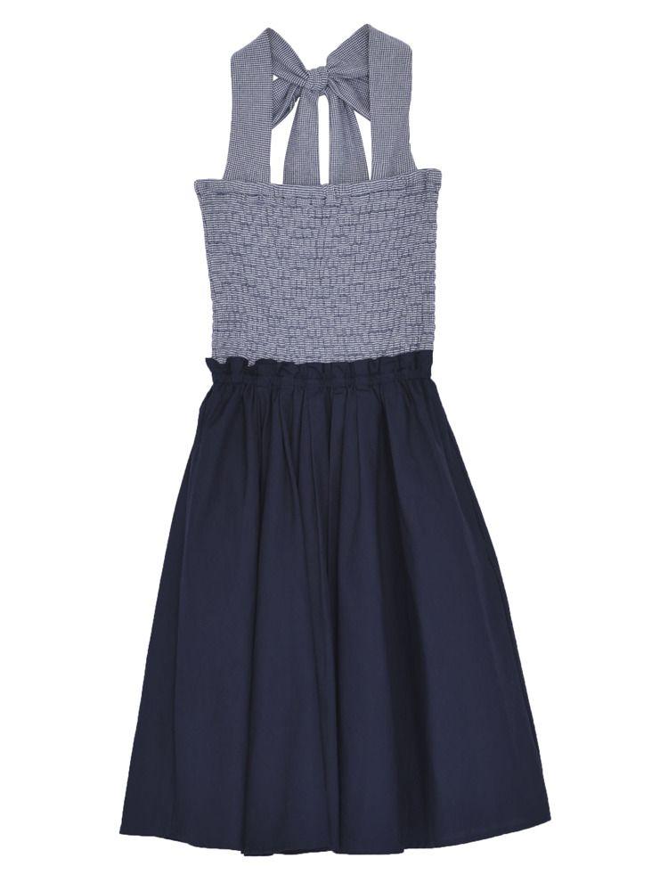 [CASUAL] smocking Bear Dress
