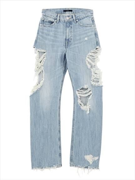 Side over the crash just west denim