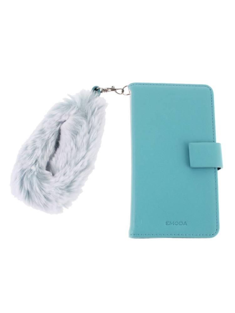 Sout fake fur strap smartphone case (large)