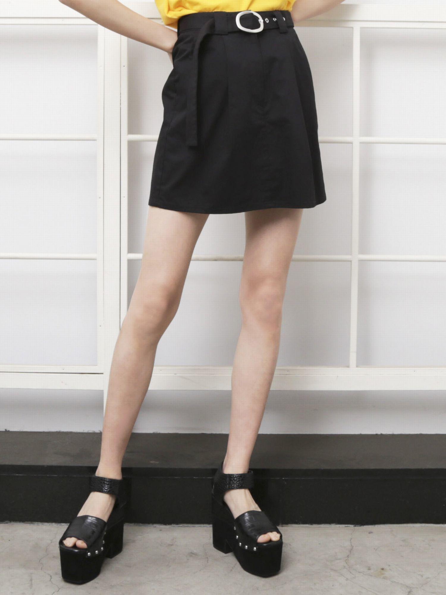 Ring belt skirt
