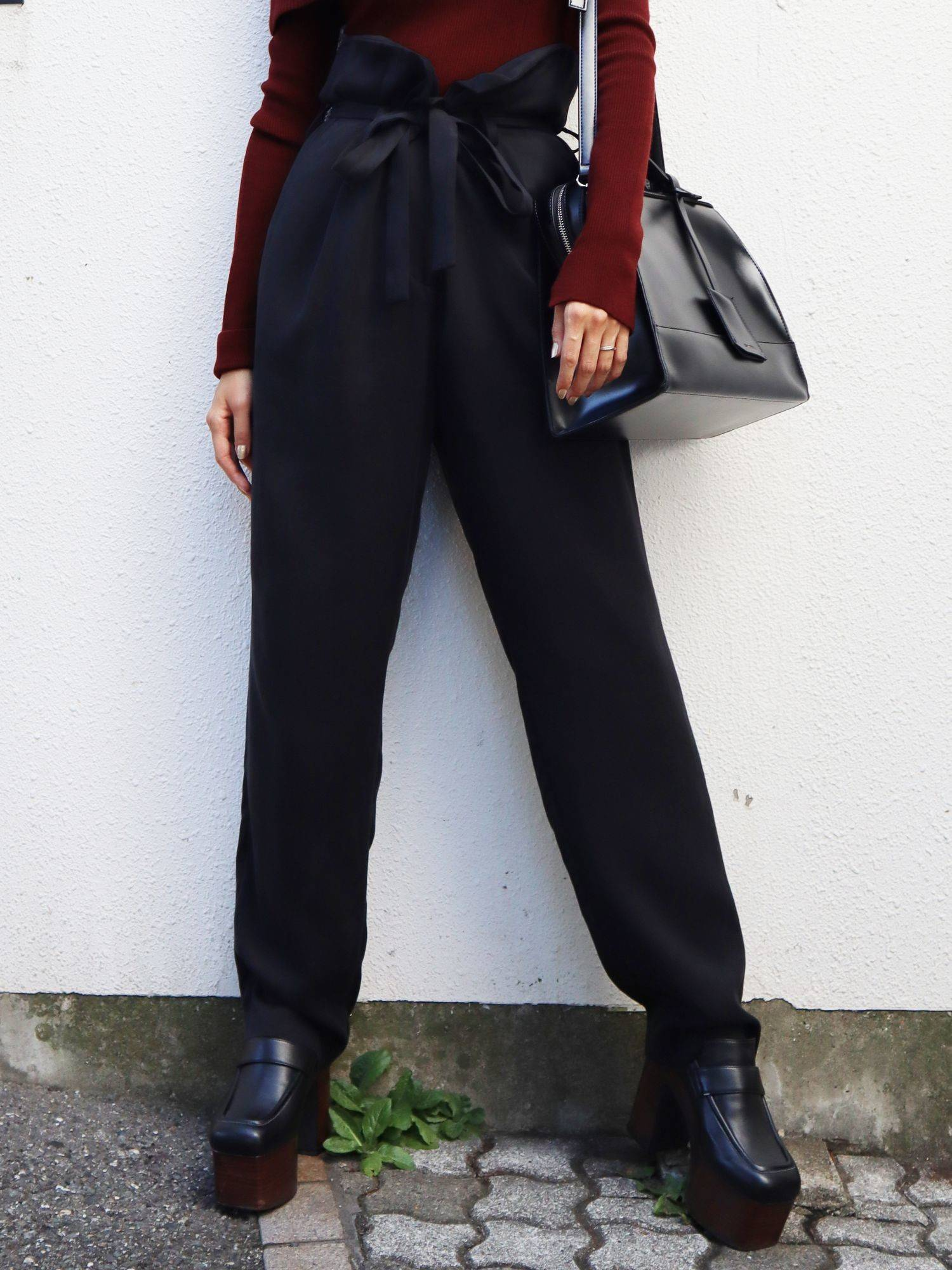 High mark wide pants