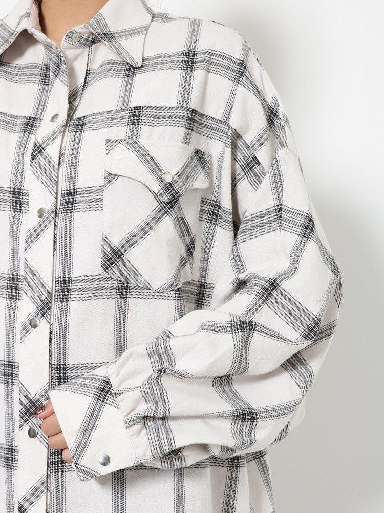 EMODA ボーイズスプリングフランネルシャツ