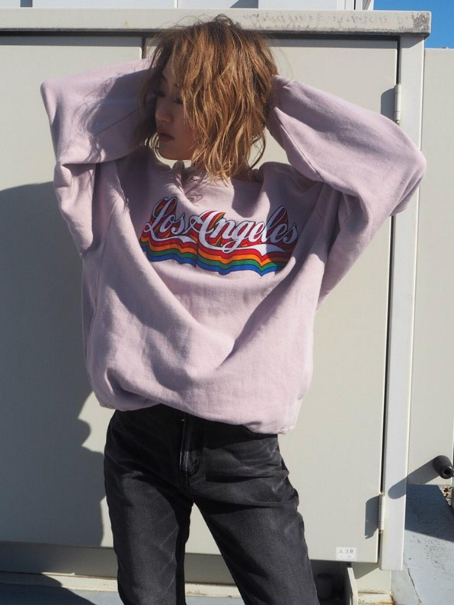 LOSANGELES BIG sweat pullover