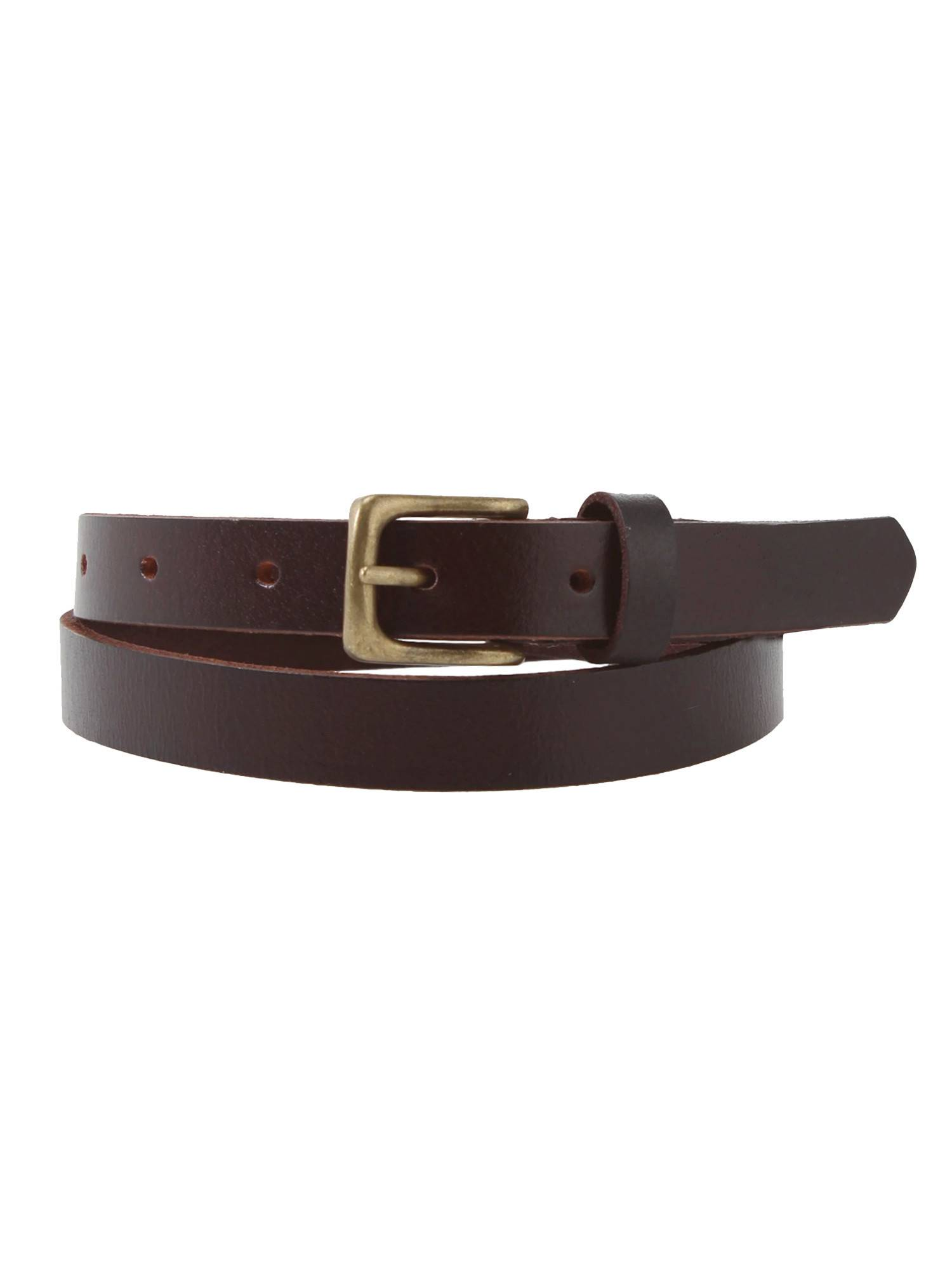 vintage slim belt