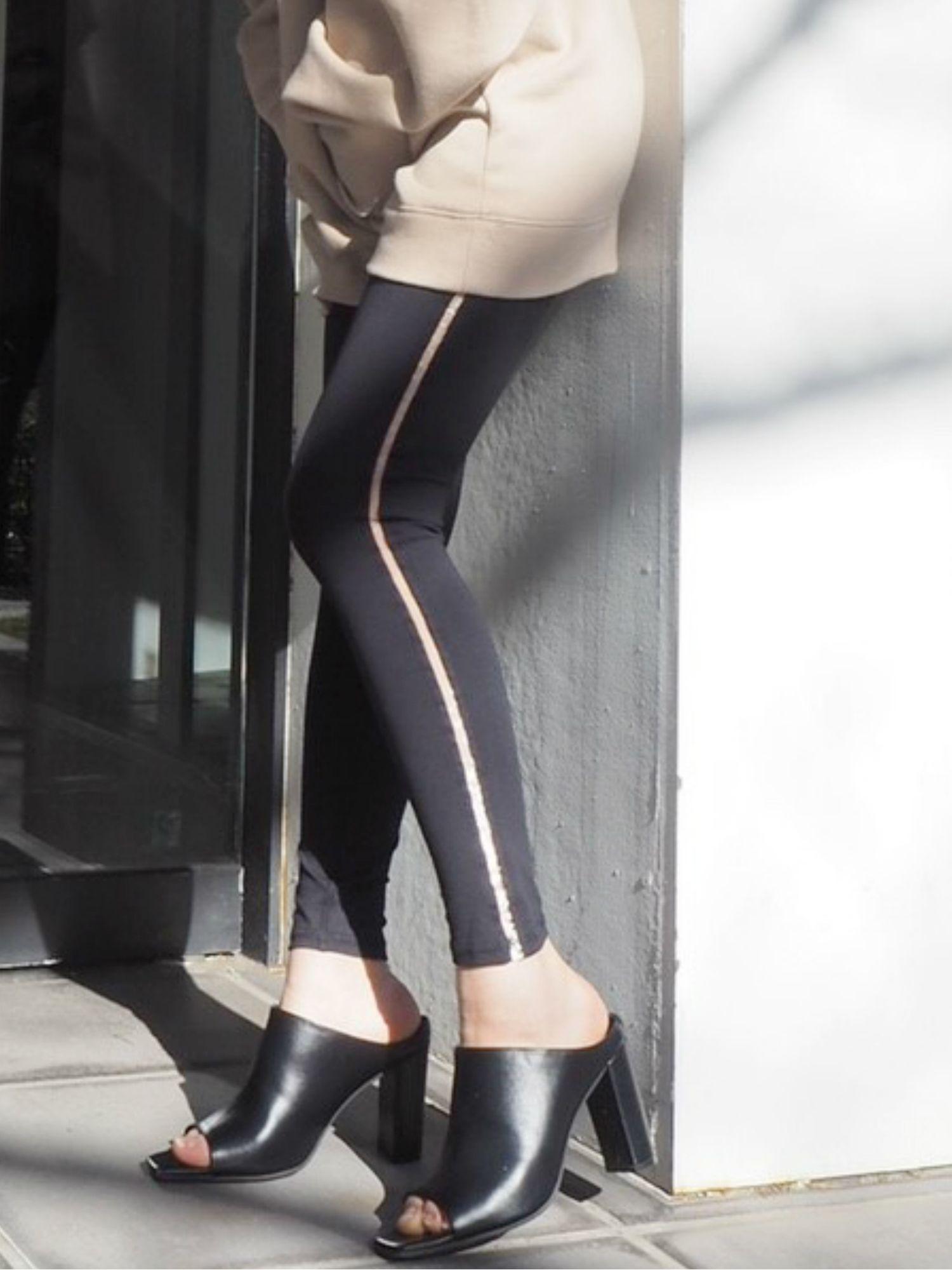 侧透视线H / W绑腿