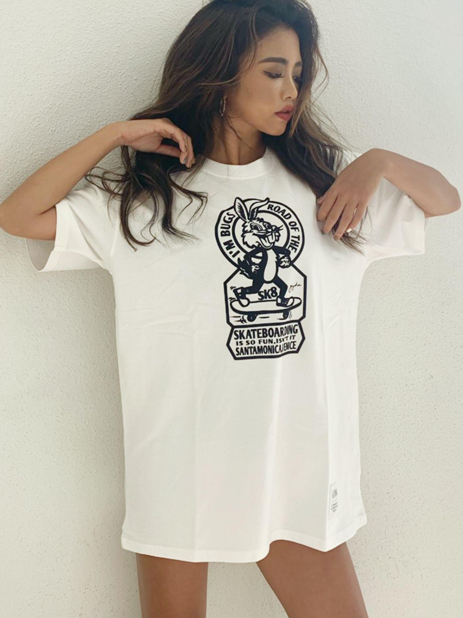 【WEB限定】SK8BUNNY BIG Tシャツ