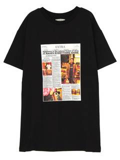 jouetie(ジュエティ) |YOUTH in LONDON NEWS PAPER TEE 画像18