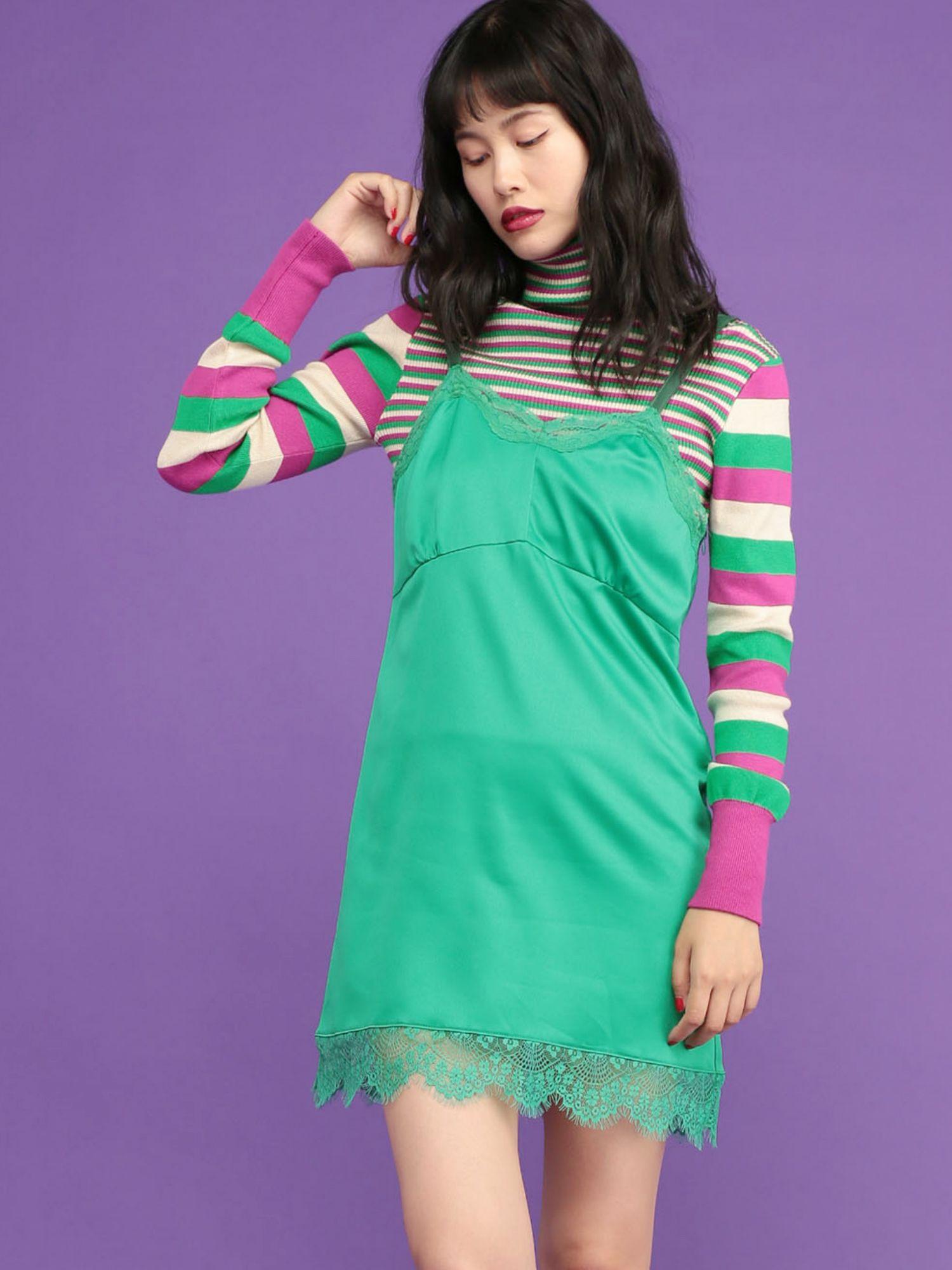 Lingerie mini dress