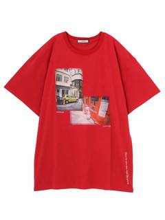 jouetie(ジュエティ) |YOUTH in MILAN,PARIS BIG PHOTO TEE 画像17
