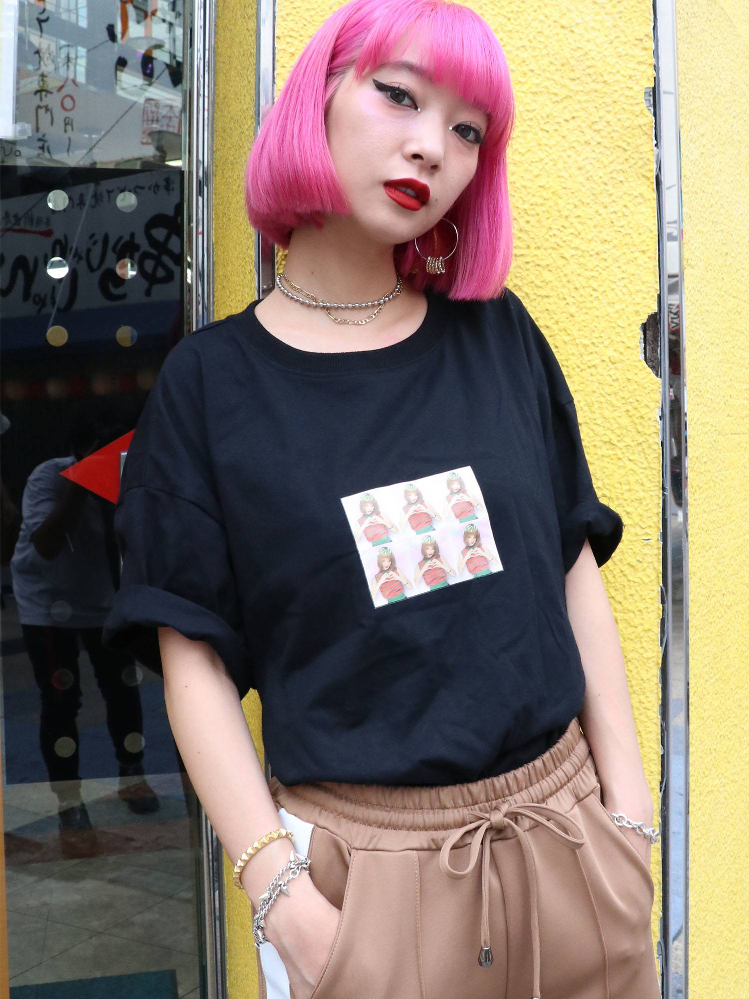 Photo booth girl T-shirt