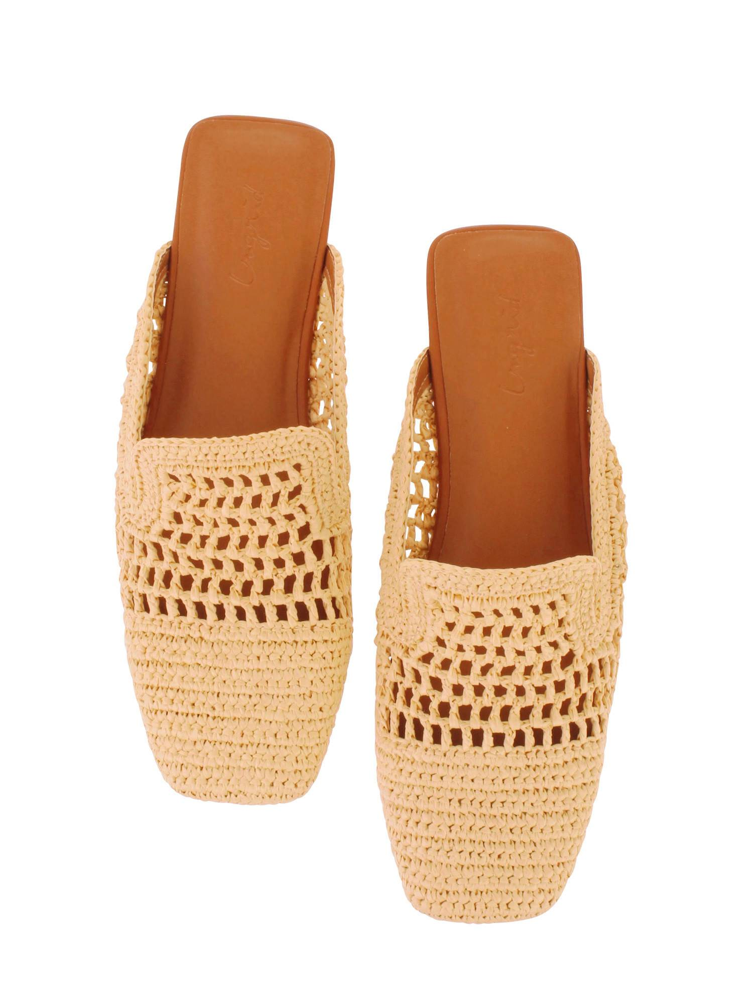 Braided Flat shoes
