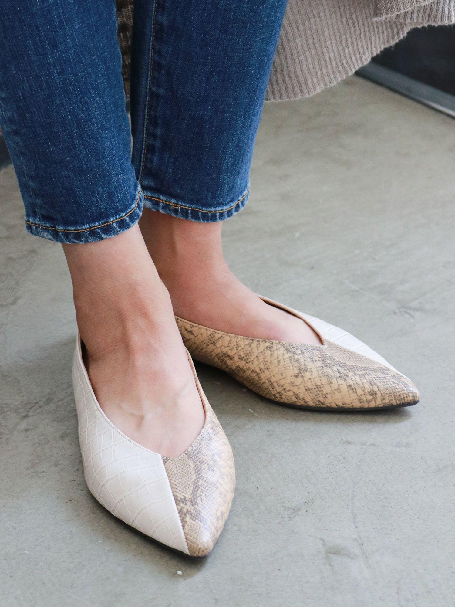 Combi Flat shoes