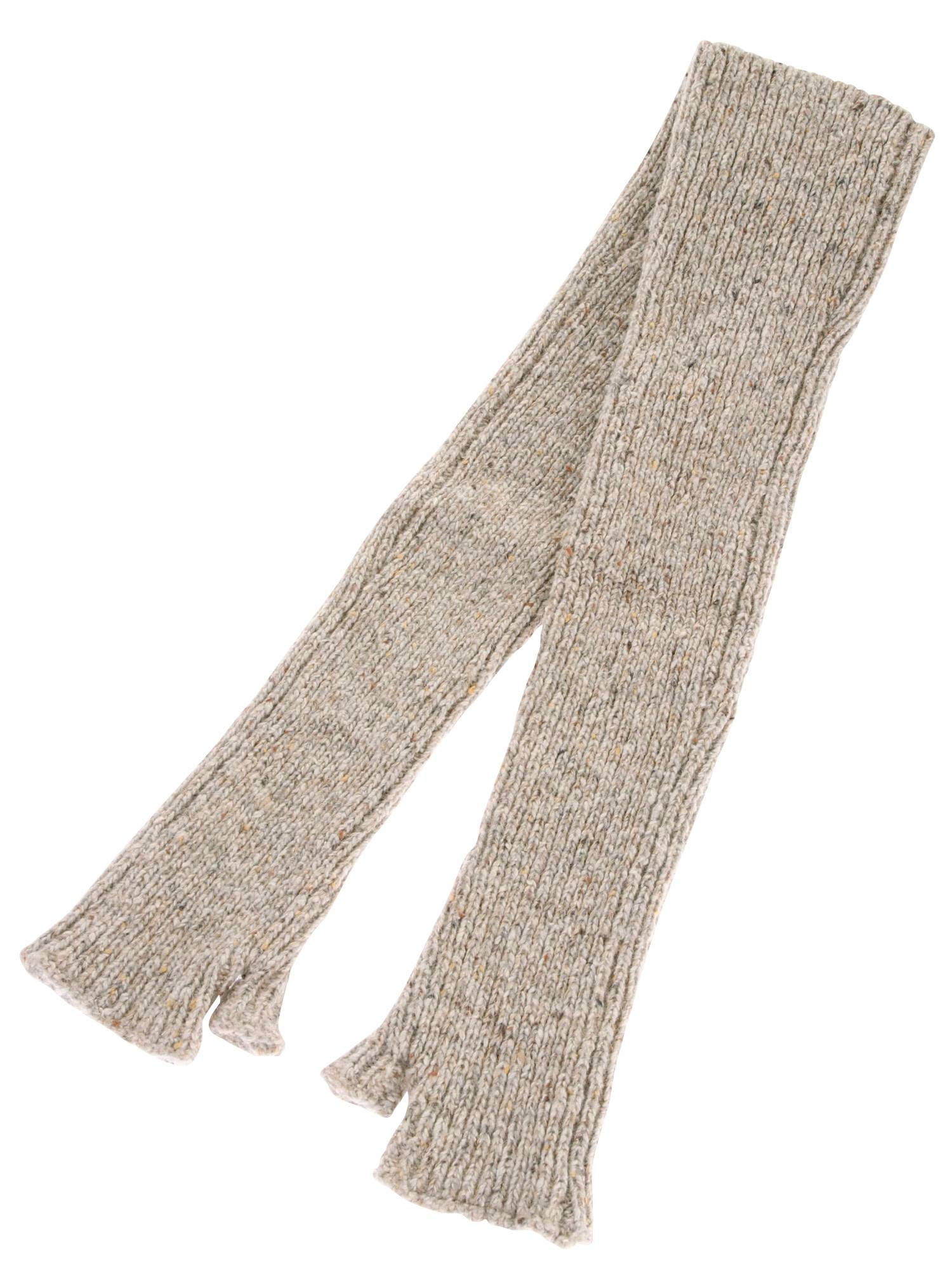 NEP mixed knit arm warmers