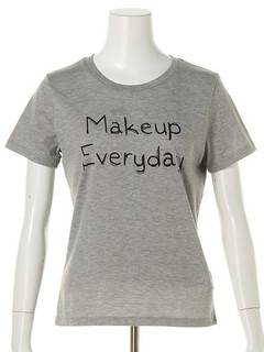OUTLET LIMITED ITEM(アウトレットリミティッドアイテム) |【dazzlin】Make up Tシャツ 画像01