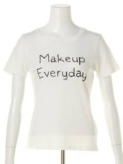 OUTLET LIMITED ITEM(アウトレットリミティッドアイテム) |【dazzlin】Make up Tシャツ 画像07