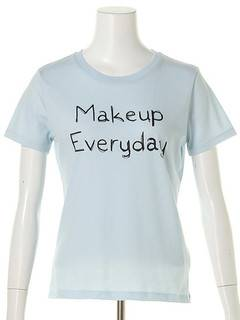 OUTLET LIMITED ITEM(アウトレットリミティッドアイテム) |【dazzlin】Make up Tシャツ 画像09