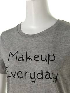 OUTLET LIMITED ITEM(アウトレットリミティッドアイテム) |【dazzlin】Make up Tシャツ 画像03