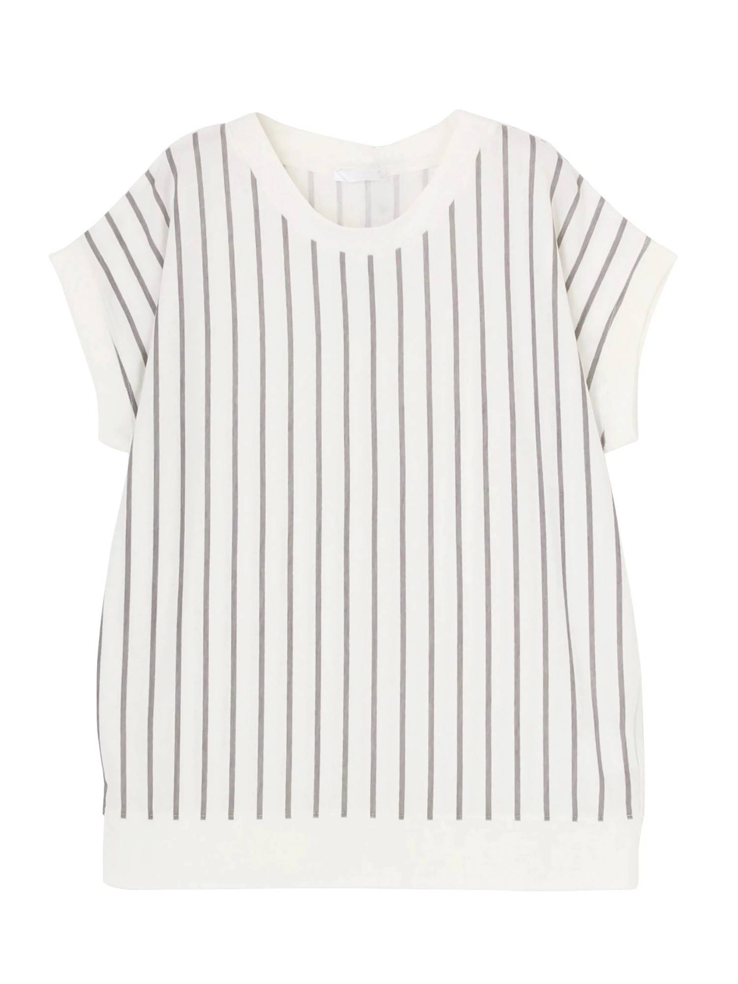 [MURUA] stripe T-shirt