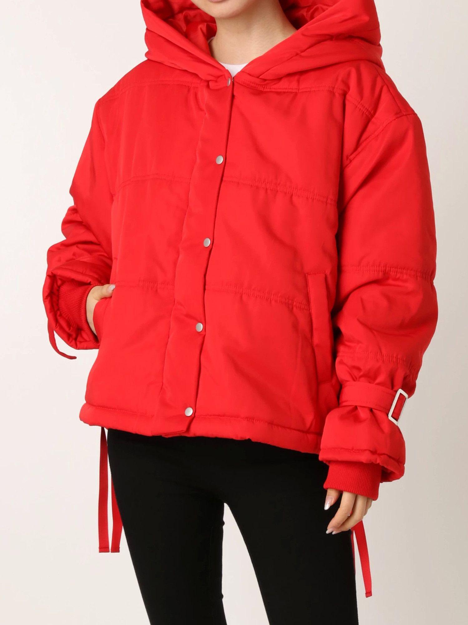 【EMODA】ショートフード中綿ジャケット
