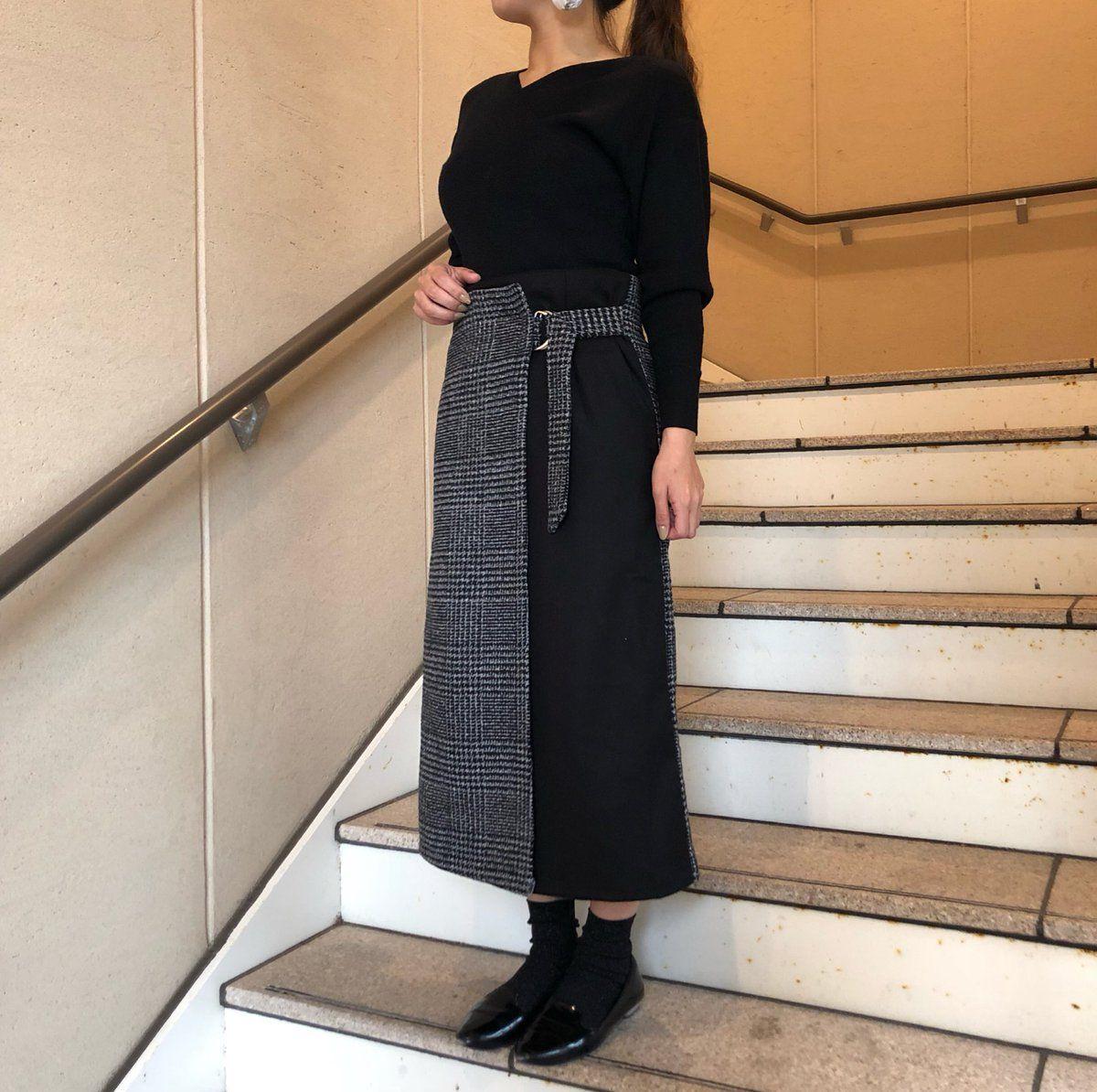 [MURUA]對接裙
