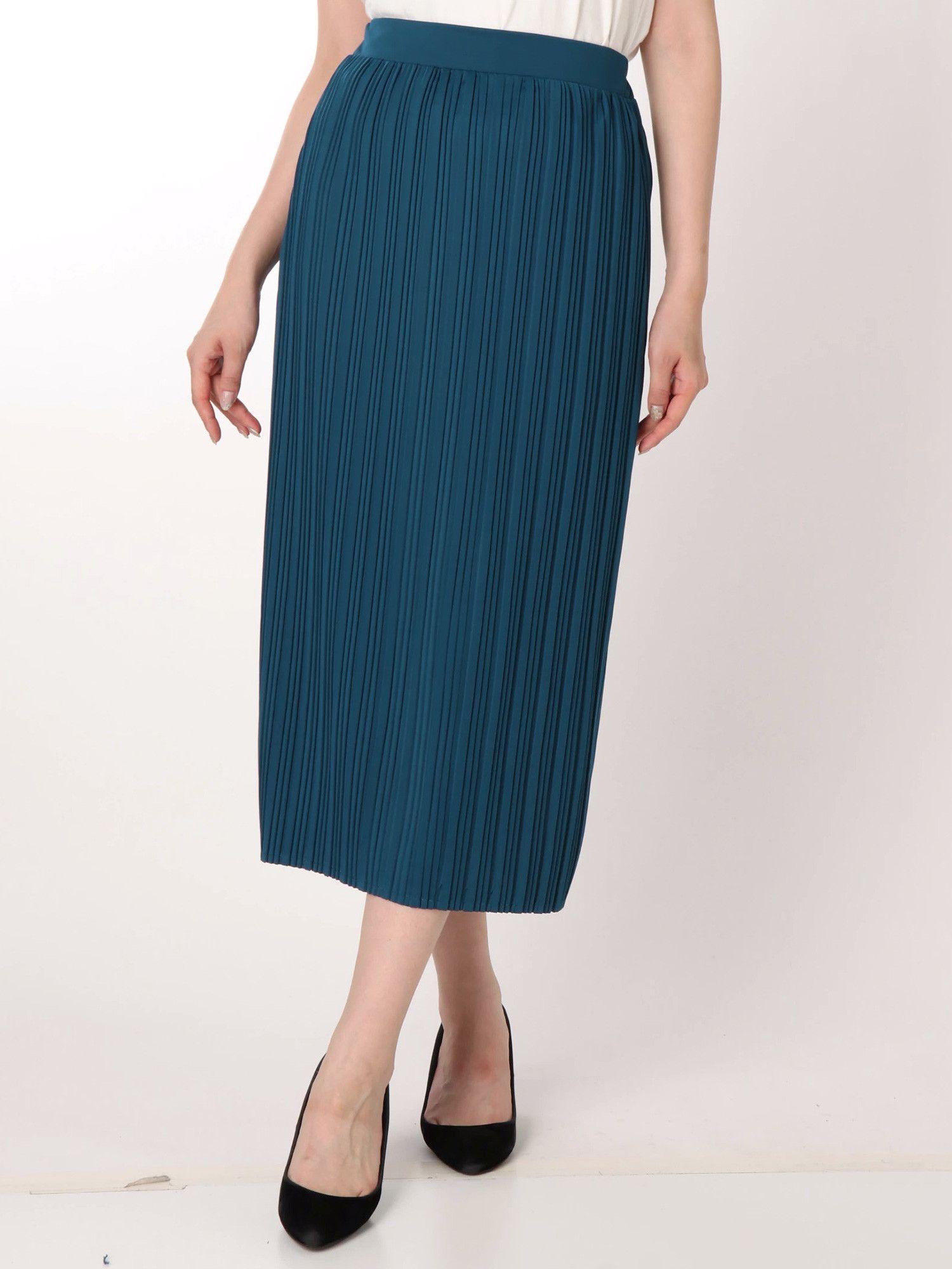 MURUA_カットプリーツスカート