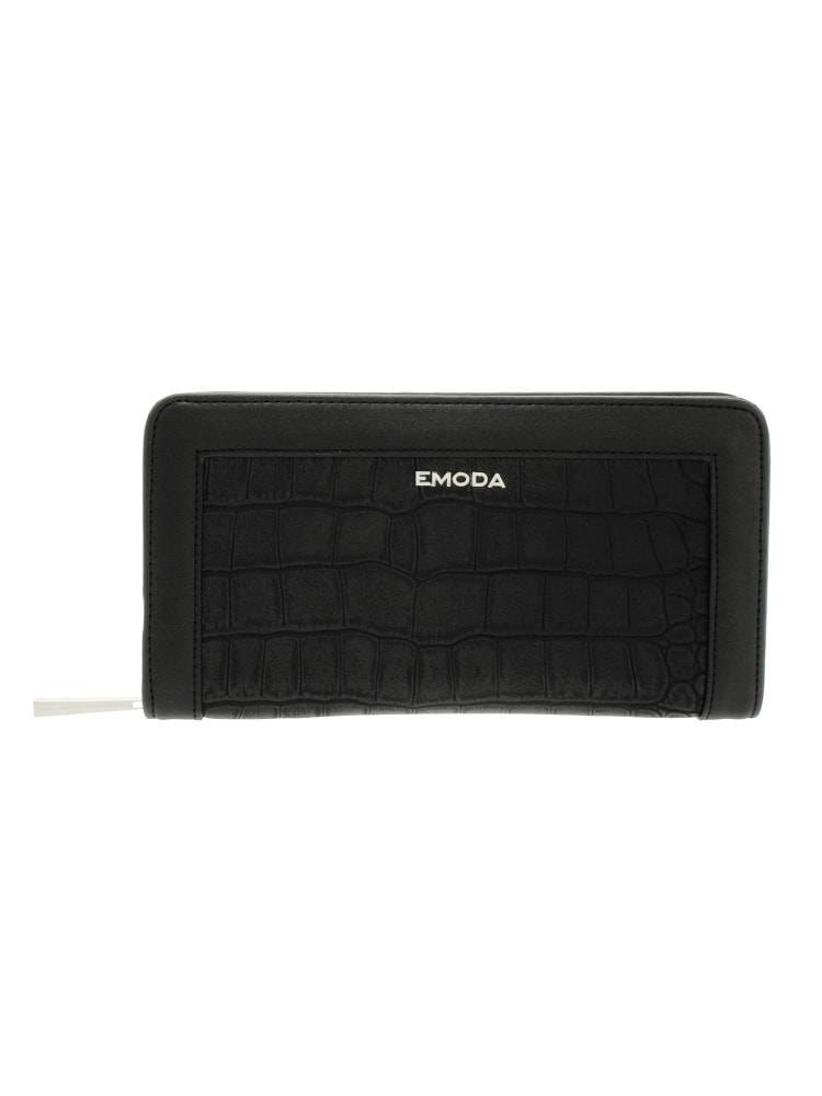 [EMODA] round purse press Croco