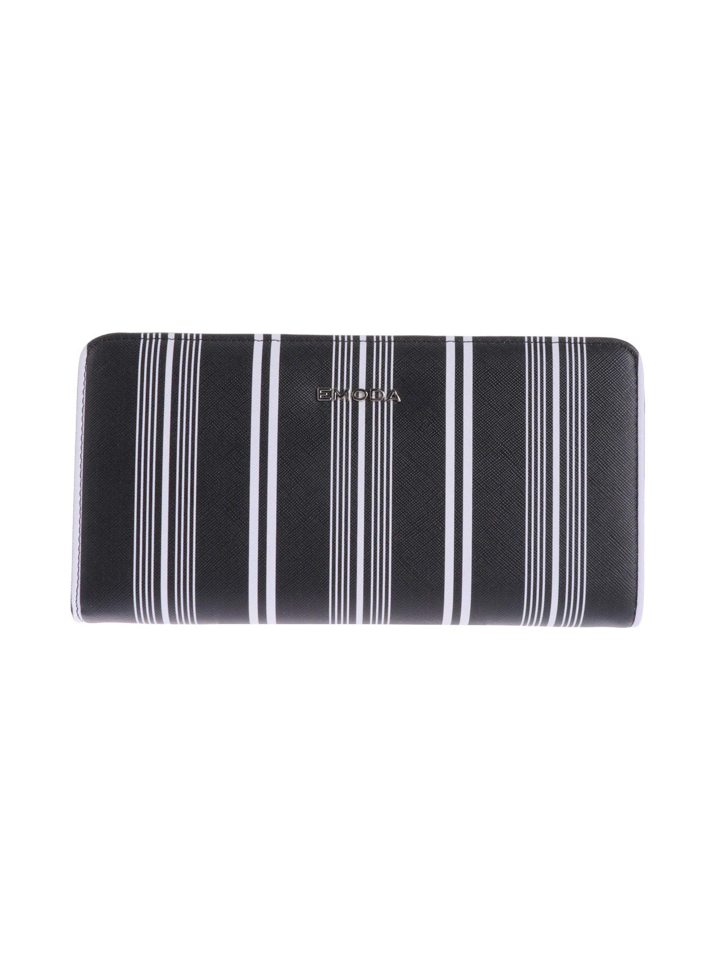 [EMODA]條紋輪拉鍊錢包