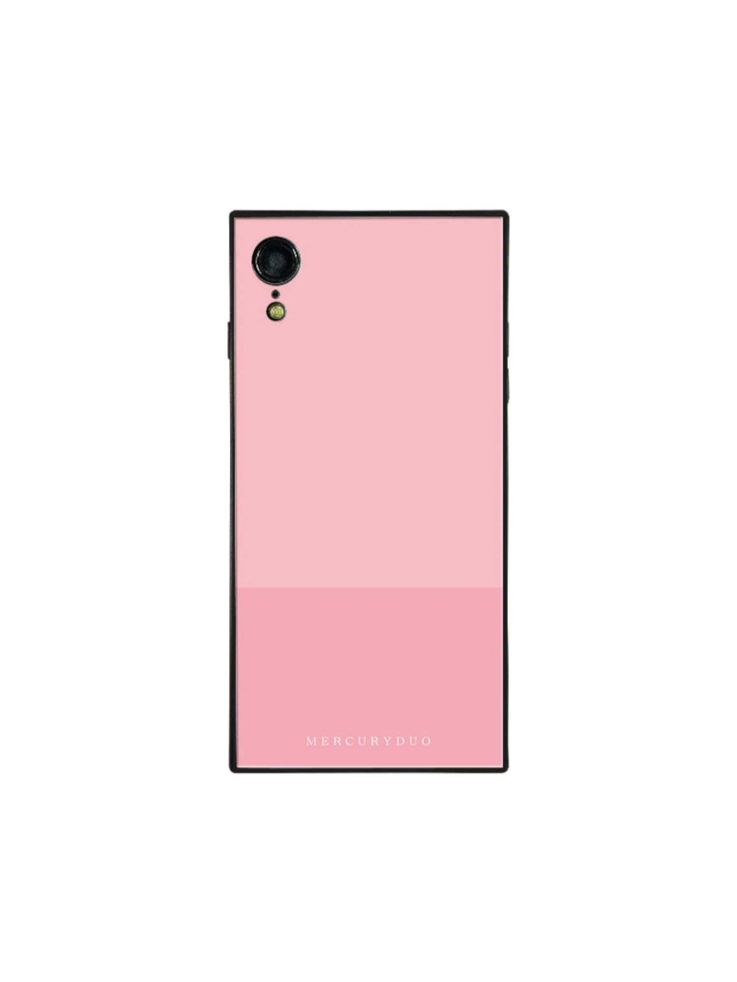 【MERCURYDUO】バイカラー iphone-XR スマホケース