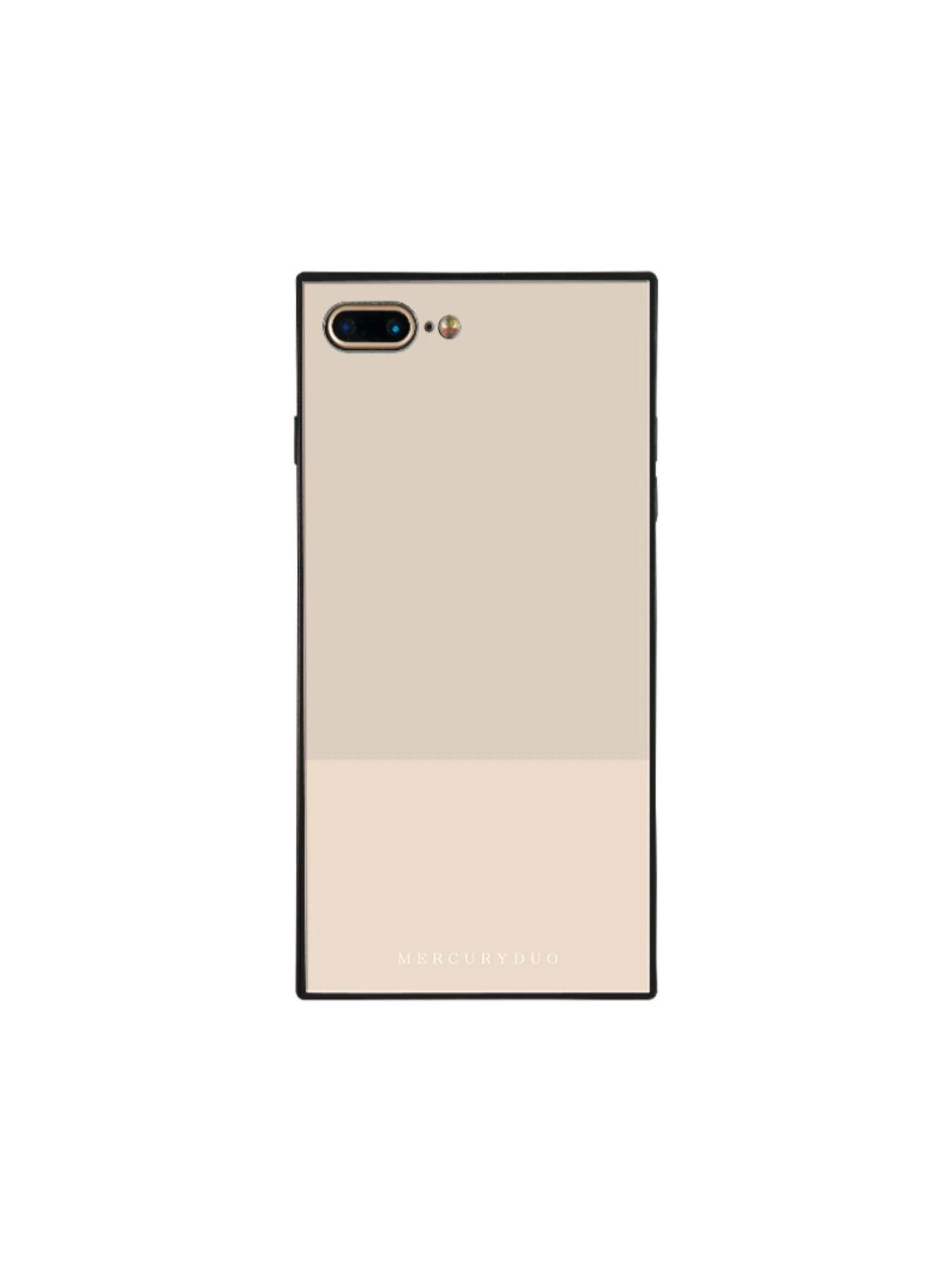 【MERCURYDUO】バイカラー iphone-7/8Plus スマホケース