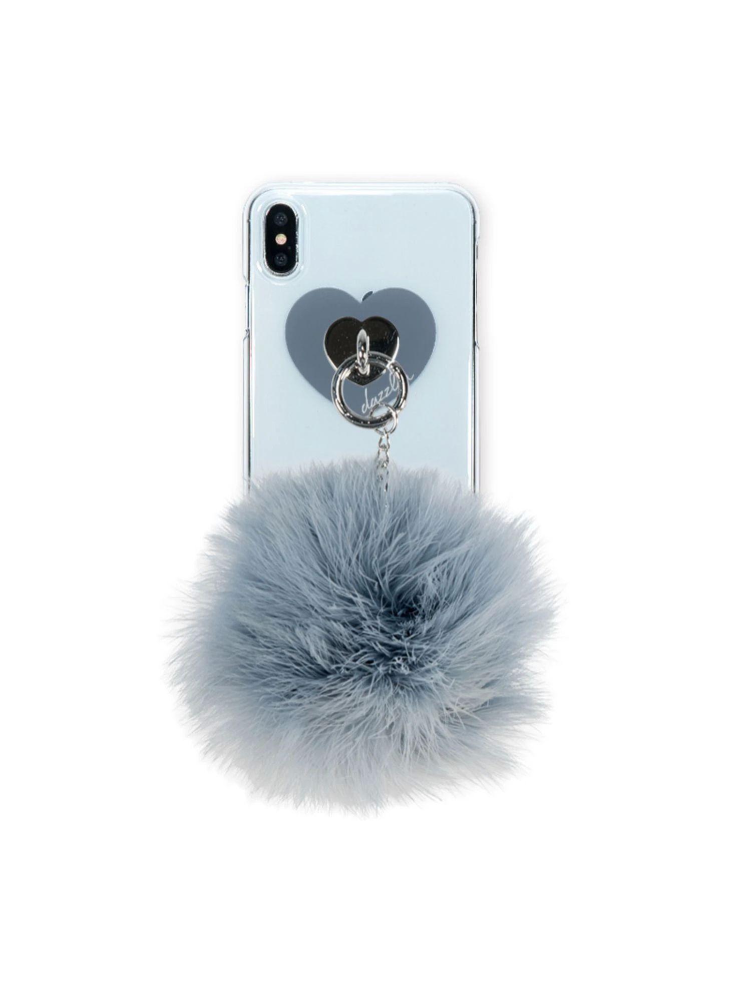 【dazzlin】FUR VINTAGE iphone-XSMAX スマホケース