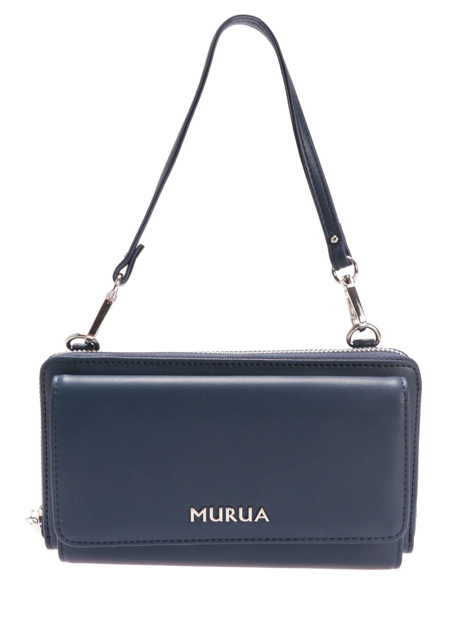 【MURUA】ベーシック お財布ショルダーバッグ