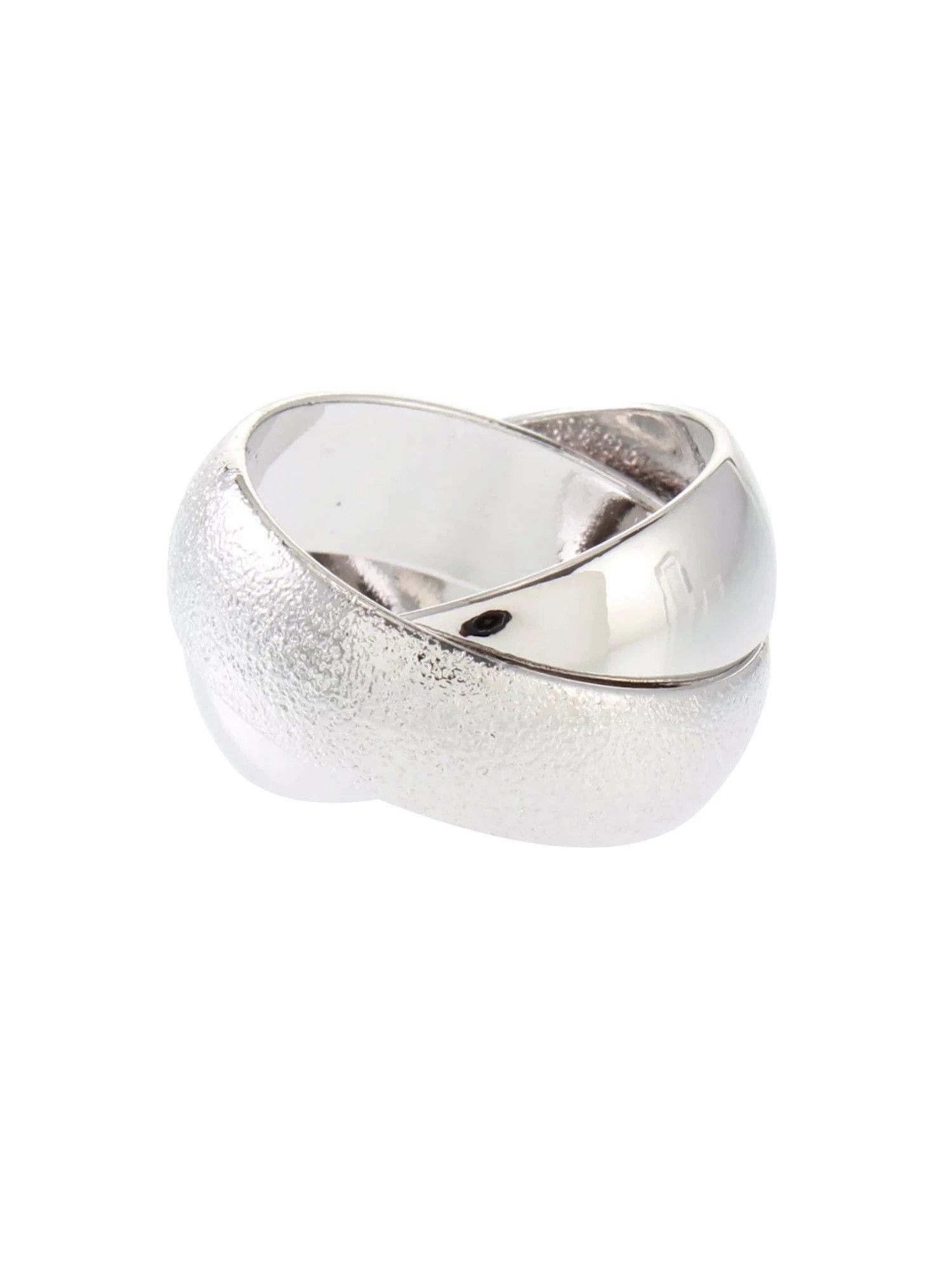 Shiny Cross Ring