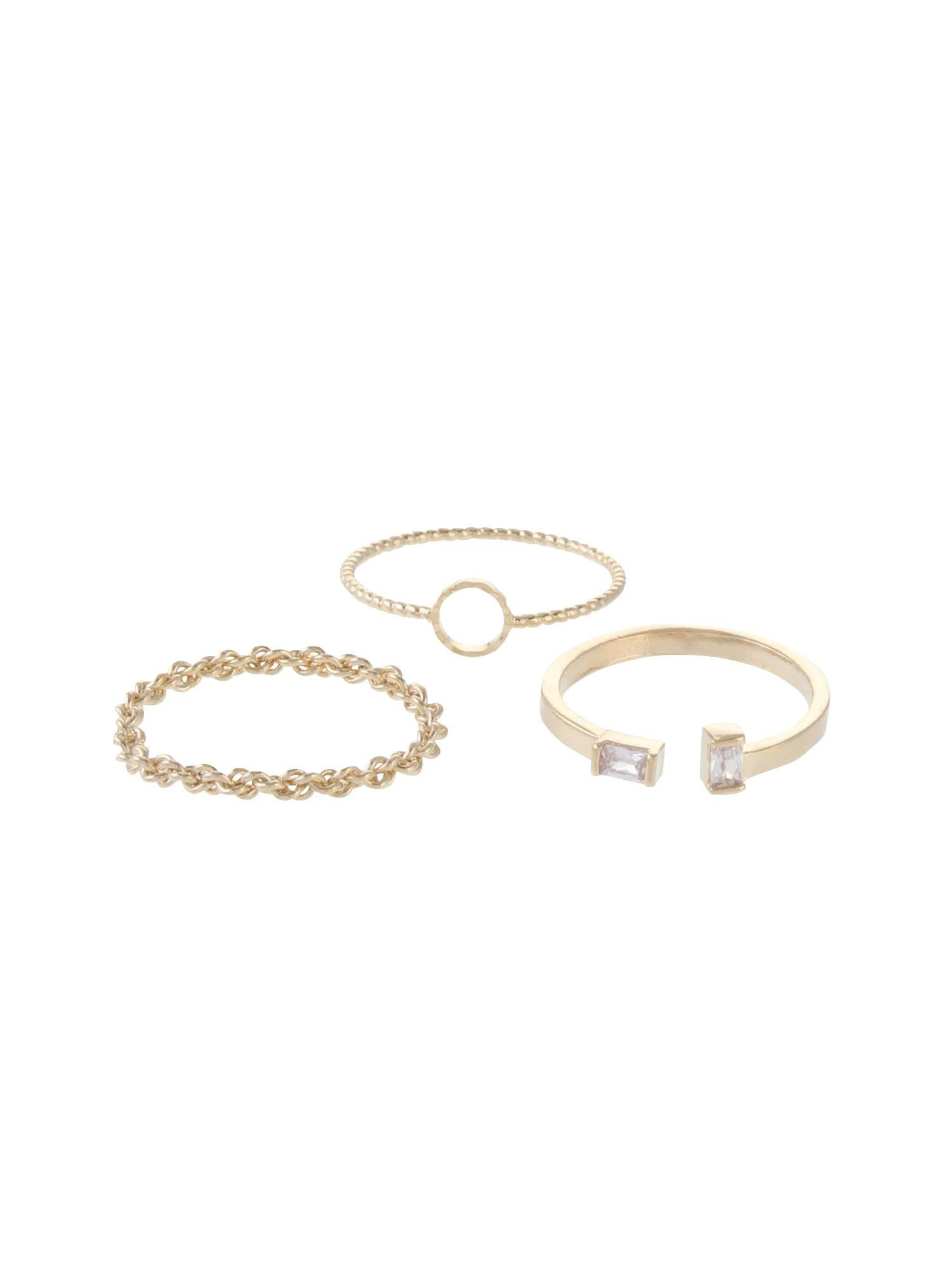 Triple ring set